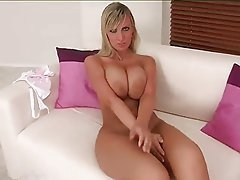 Big Boobs, Blonde, Masturbation, MILF
