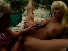 Lesbisch, Blondine, MILF, Grosse Boobs