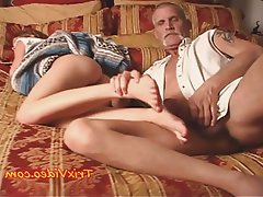 Anal, Cumshot, Foot Fetish, Old and Young