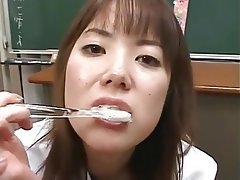 Cum in mouth, Cumshot, Japanese