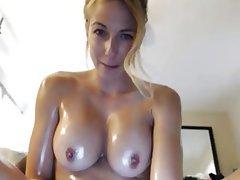 Big Boobs, Brunette, Masturbation, Webcam