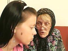 Blowjob, Angespritzt, Oma, Alt Und Jung