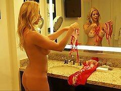 Hotel, Lingerie, Stockings, Beauty