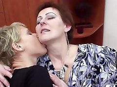 Lesbian, Mature, MILF, Old and Young