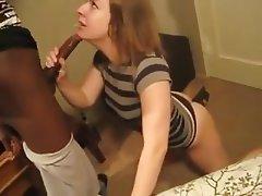 Amateur, Interracial, Big Black Cock