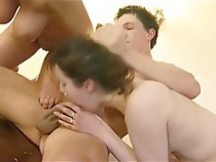Anal, Big Boobs, Cumshot, Threesome