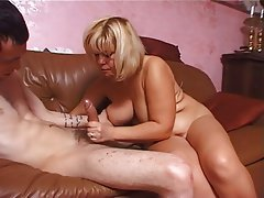 BBW, Grosse Boobs, Blondine, MILF