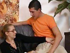 Výstřiky, Sperma v obličeji, Tvrdé sex, Zralé ženy