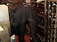 Agé, MILF, Collants, Collants