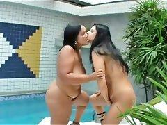 Velké krásky, Brazílie, Lesbičky, MILF