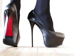 Close Up, Femdom, Stockings