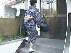 Asiatisch, Oma, Japanisch