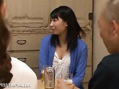 Asian, Blowjob, Creampie, MILF
