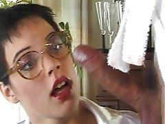 Anal, Ass Licking, German, Lingerie