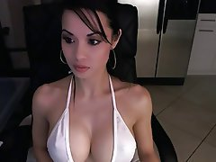Asian, Big Boobs, Webcam