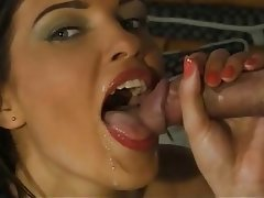 Pompini, Sborrata, Sperma in faccia, Duro porno