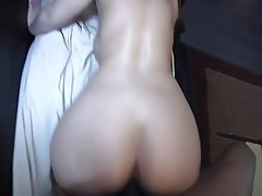 Anal, Brunette, Creampie, Interracial