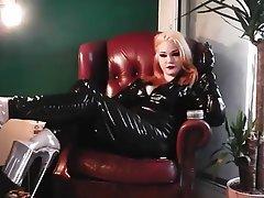 Femme dominatrice, Látex, À la première personne, Webcam