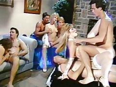 Double pénétration, Sexe en groupe, Poilue, Échangistes
