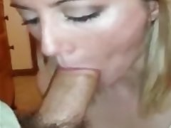 Amateur, Blonde, Blowjob, Facial
