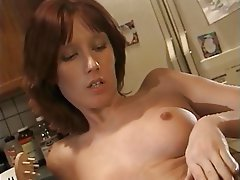 Masturbation, Brunette, MILF