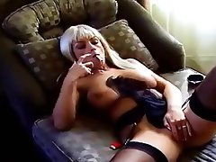 Mature, Masturbation, MILF, Stockings