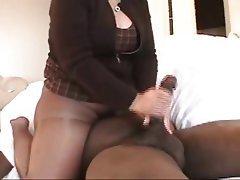 Handjob, Stockings