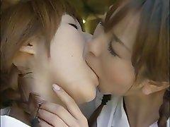 Japonsko, Lesbičky