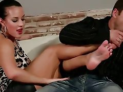 Cumshot, Foot Fetish, MILF