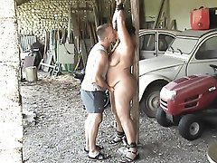 BDSM, Bondage, Old and Young, Orgasm