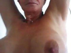 Amateur, Mature, MILF, Shower